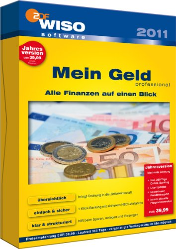 WISO Mein Geld 2011 Professional (Jahresversion)