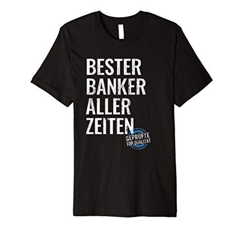 Cooles Banker Geschenk Bank Finanzen Geld Anlage T-Shirt
