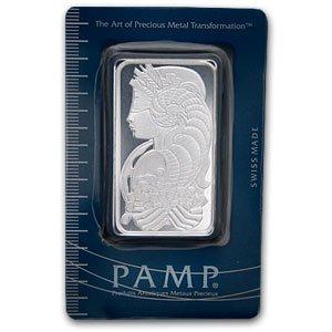 Pamp Suisse 50 Gramm Silberbarren 999 Fine Silver Silber – Top Geldanlage – SELTEN