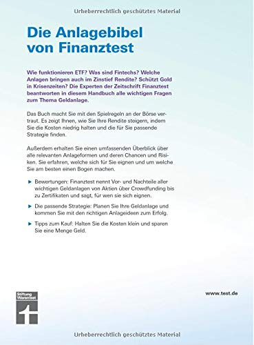 Das Handbuch für Aktien, Fonds, Anleihen, Festgeld, Gold usw. – Vor- und Nachteile aller Geldanlage – Chancen & Risiken -Passende Strategien