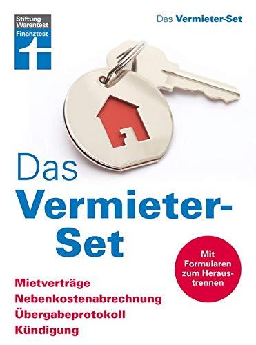 Das Vermieter-Set – Mietverträge, Nebenkostenabrrechnung, Übergabeprotokoll, Kündigung – Ihre Rechte als Vermieter – Alle relevanten Formulare
