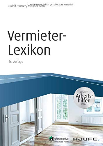 Vermieter-Lexikon – inkl. Arbeitshilfen online (Haufe Fachbuch)