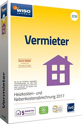 WISO Vermieter 2018 – Mietneben- und Heizkosten korrekt abrechnen 2017