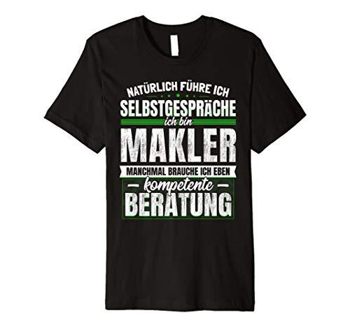 Geschenk Makler Lustiges Immobilien T-Shirt