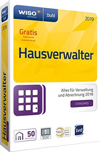 WISO Hausverwalter 2019 Standard – Die Rundum-sorglos-Lösung für kleine Hausverwaltungen und Eigentümer [CD-ROM]