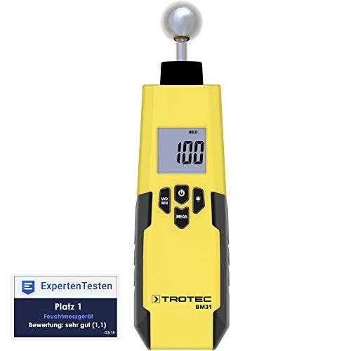 TROTEC Feuchteindikator BM31 Feuchtemessgerät (5-40 mm)