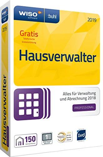WISO Hausverwalter 2019 Professional – Die Profisoftware für alle Vermieter und Hausverwaltungen [CD-ROM]