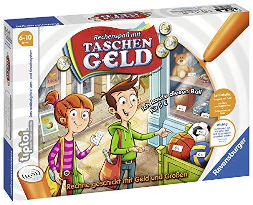 Ravensburger tiptoi 00779 – Spiel: Rechenspaߟ mit Taschengeld