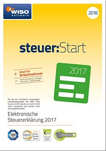 WISO steuer:Start 2018 (für Steuerjahr 2017)|Frustfreie Verpackung